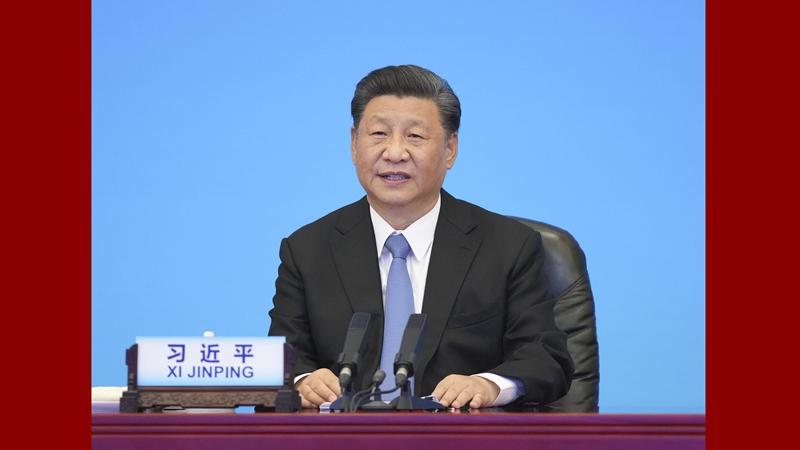 시진핑, 중국공산당과 세계 정당 지도자 정상회의 참석 및 기조 연설 발표