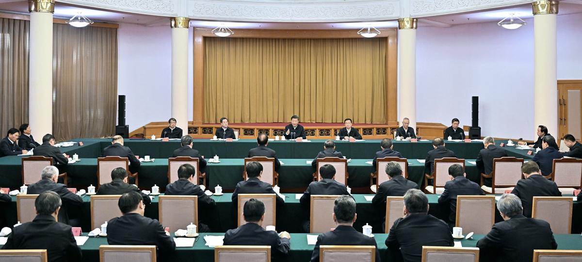 시진핑 中 주석, 황허 유역 생태보호 및 질 높은 발전 심화 추진을 위한 좌담회 주재