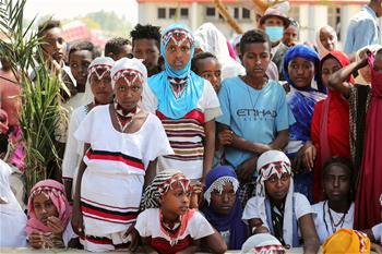 중국 CFPA, 에티오피아 빈곤 아동에 푸드백 전달