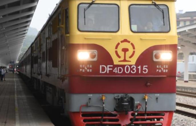 사오산-징강산 홍색 전용열차 첫 운행