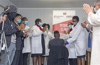 中 시노백, 남아공서 어린이 및 청소년 대상 백신 임상 3상 개시