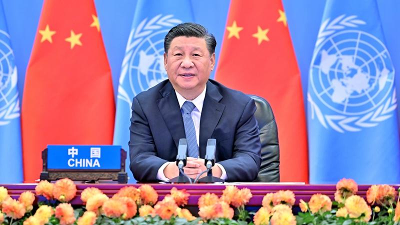 (뉴스 번역) 시진핑 주석, '제2회 유엔 글로벌 지속가능 교통회의'개막식서 화상 연설