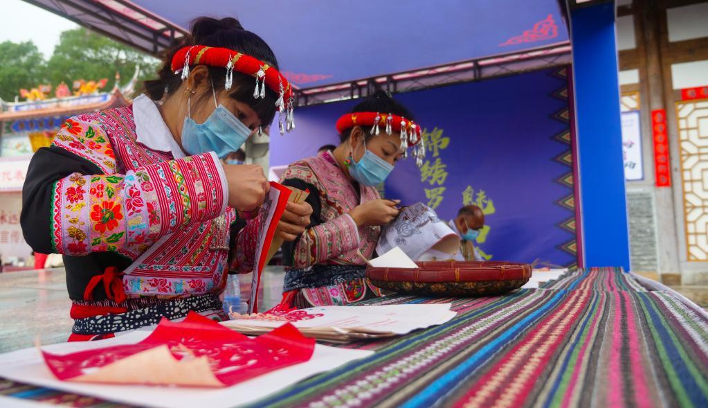 中 소수민족 서족의 풍습 한눈에…푸젠성 '제14회 민족 단결·진보 홍보의 달'
