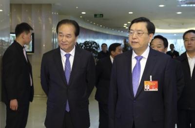 장더장, 12기 전인대 3차회의 보도 보도에 참가한 언론인 회견