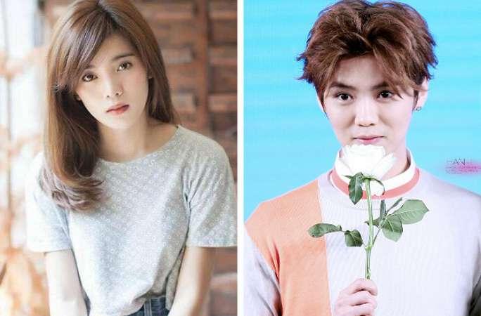 태국女, 中 연예인 루한(鹿晗)과 얼굴이 닮아, 네티즌, 정말 남매 아닌가?!