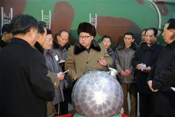 김정은, 핵타격 수단 계속 갱신 강조