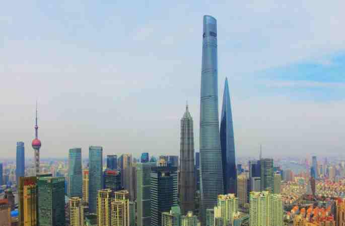 중국 최고층 빌딩 상하이 타워 완공