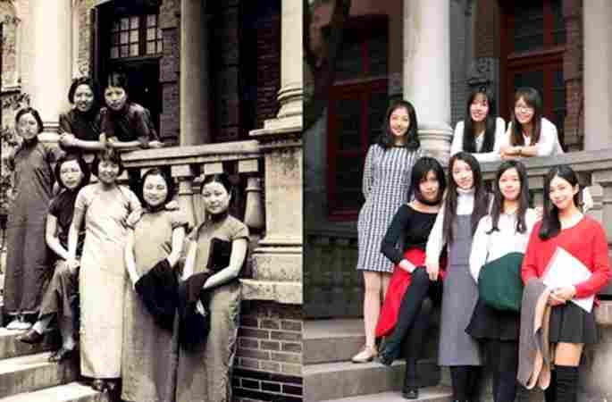 상하이 교통대학 개교 120주년… 추억 돋는 사진 공개