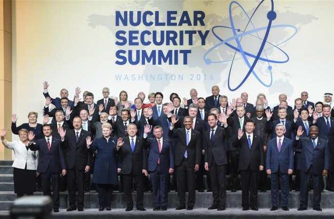 시진핑 中주석, 제4회 핵안보정상회의 참석