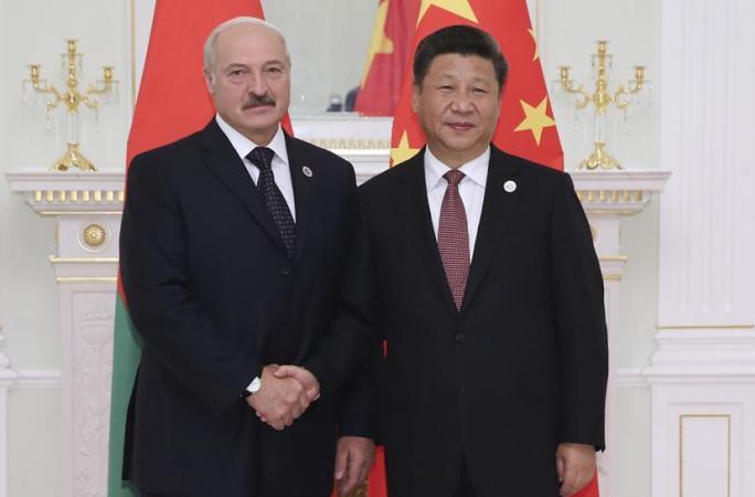 시진핑 주석, 벨로루시 대통령과 회담