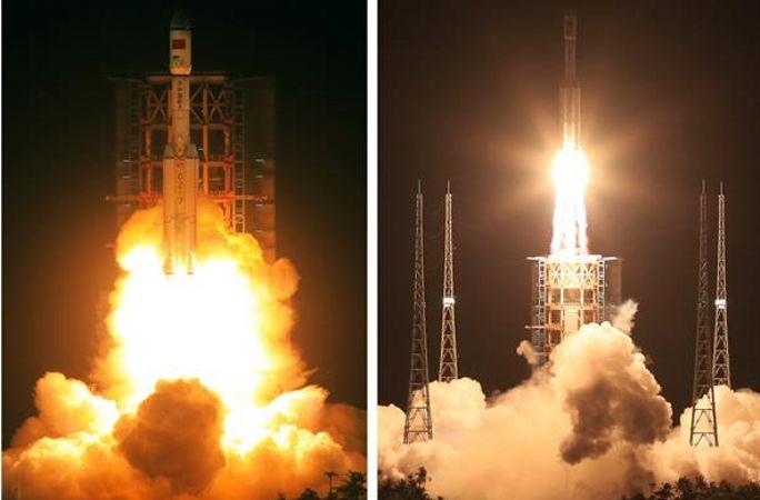 창정7호 차세대 운반로켓 성공적으로 발사