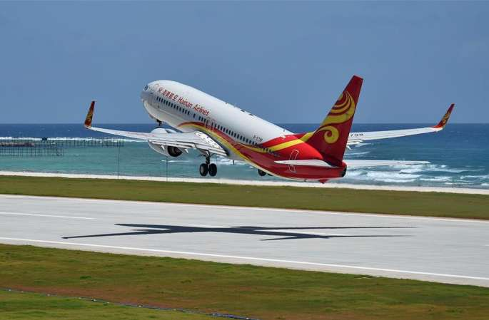 中난사 메이지자오·주비자오 새 공항서 성공적으로 시험 비행