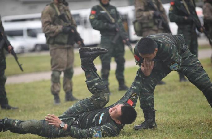 중-러, '협력-2016' 연합 반테러 훈련 원만히 마쳐