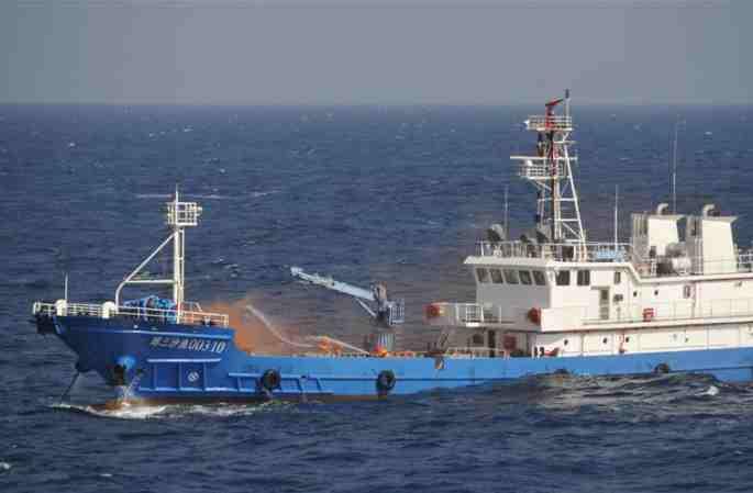 산사(三沙)시 시사(西沙) 군도 해역서 첫 해공 응급 구조 훈련 실시