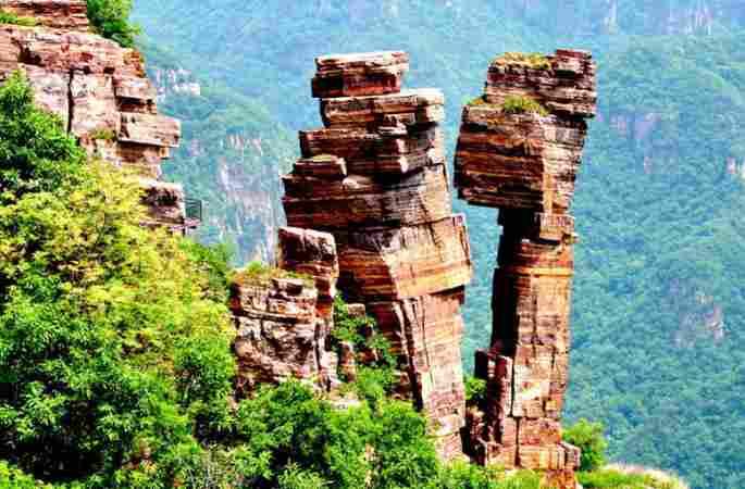 세계지질공원 허난 다이메이산, 12억 년이나 기다렸어요!