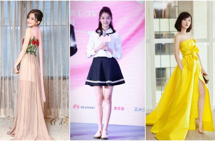 중국 차세대 미녀 스타들의 대결, 몸매는 일류