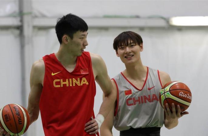 [리우올림픽]중국 남자 농구 대표팀 사전 전지훈련 한창