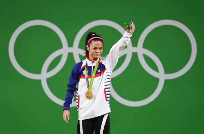 [리우올림픽] 역도 여자 53㎏급, 中타이베이 선수 쉬수징 금메달