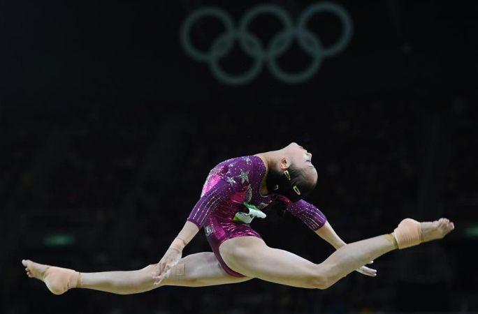 中 여자 체조 단체전 동메달