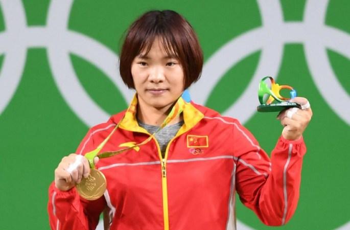 [리우올림픽]여자 역도 69kg급, 샹옌메이 금메달