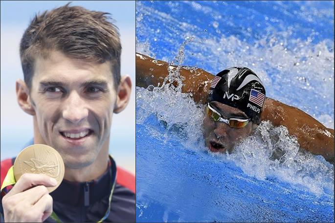 〔리우 올림픽〕수영- 남자 개인혼영 200m 마이클 펠프스 금메달