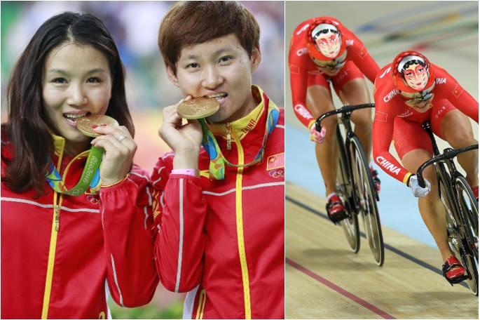 [리우 올림픽] 중국, 트랙 사이클 여자 단체 스프린트 新 세우고 금메달