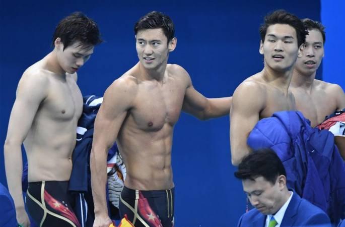 [리우올림픽] 중국팀, 남자 혼계형 400m서 반칙 범해 성적 취소