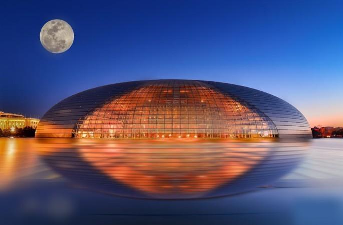 사진작가 다각도로 촬영한 베이징 야경…황홀한 조명에'심취'