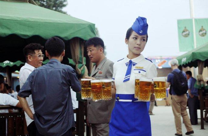 朝, 제1회 평양 대동강 맥주축전 개막