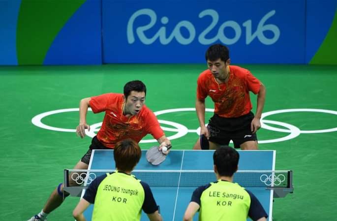 [리우올림픽] 탁구 男 단체, 중국팀 결승 진출