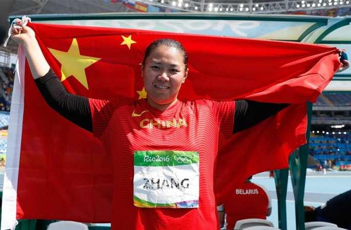 [리우올림픽] 여자 해머던지기, 中 선수 장원셔슈 은메달