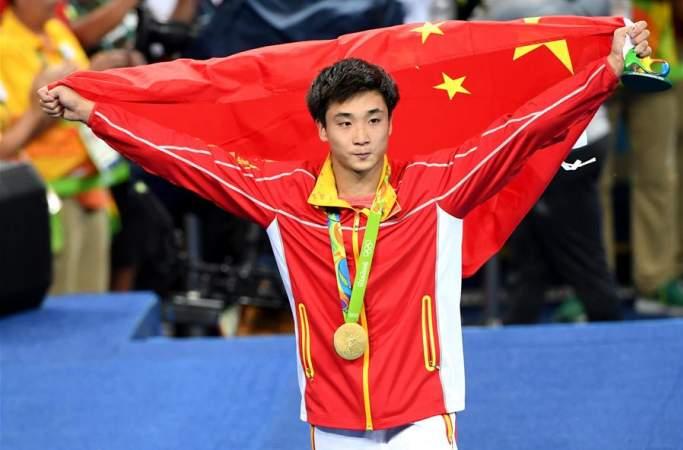 [리우올림픽] 中 차오위안, 남자 다이빙 3m 스프링보드 金