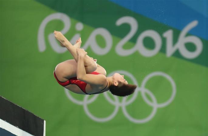 [리우올림픽]여자 다이빙 10m 플랫폼, 中선수 金,銀