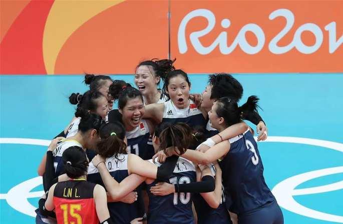 [리우올림픽] 中, 여자배구 결승 진출