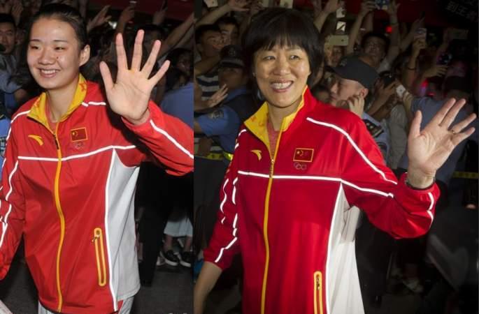 [리우올림픽] 중국 여자배구팀 귀국