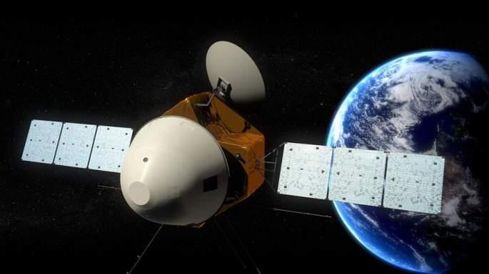 """중국 화성 지표탐사차량 외형 공개...4개 """"큰 날개"""" 부착"""