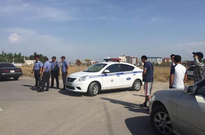키르기스스탄 주재 중국대사관 부근서 폭발, 3명 부상