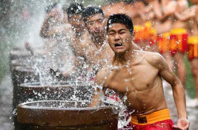 제 11차 중국 정저우 국제 소림 무술절 개막