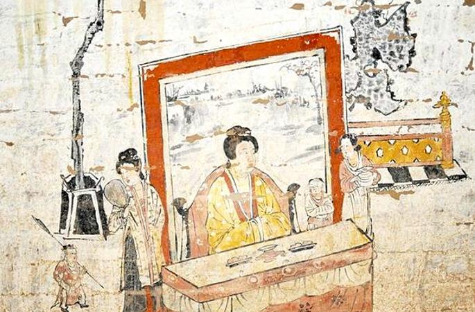 산시 고대 고분 172개 발견, 금•원 시기 조각벽화 출토