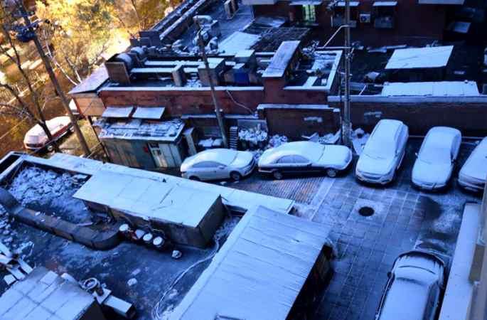 베이징 첫눈과 함께 찾아온 가장 추운 1주일, 눈은 40시간 계속될 것