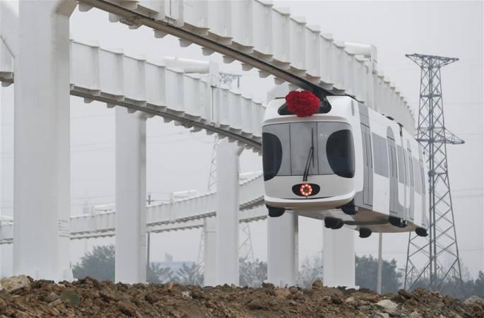 신에너지 '쿵톄' 쓰촨서 성공적으로 운행 테스트에 진입