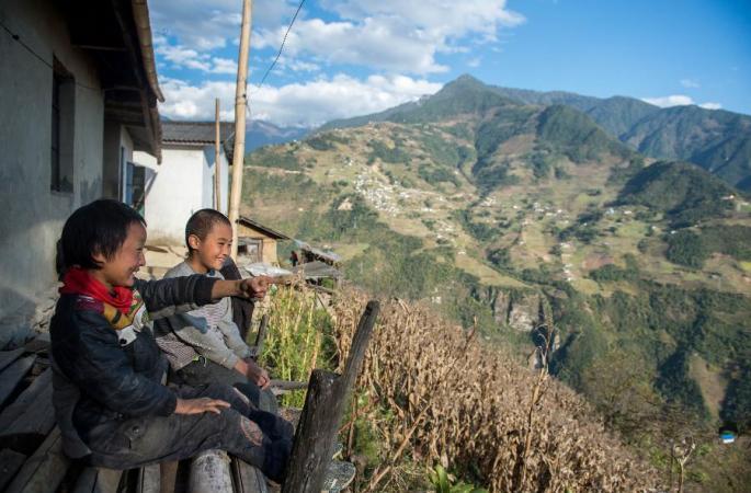 [포토 스토리] 누장퉈핑 마을의 빈곤탈출의 길