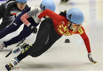 쇼트트랙--짱이쩌, 여자 500m 금메달