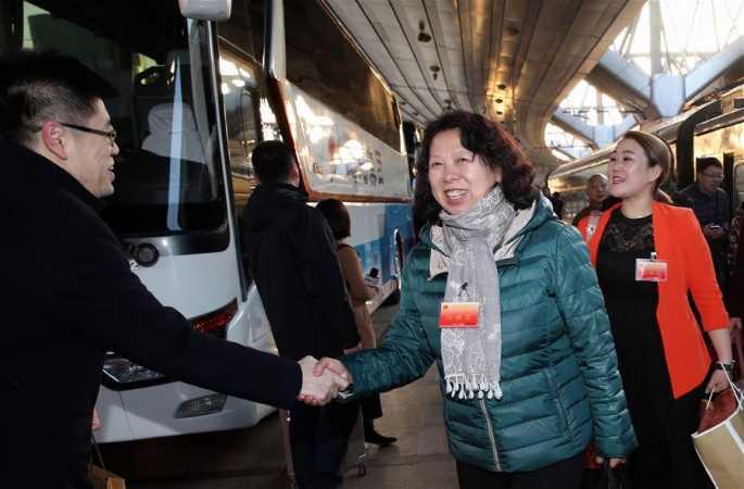 헤이룽장 대표단 베이징에 도착