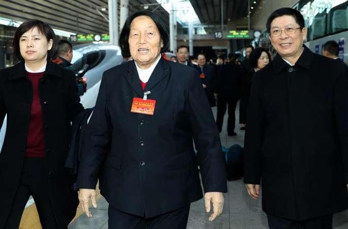 산시 대표단 베이징에 도착