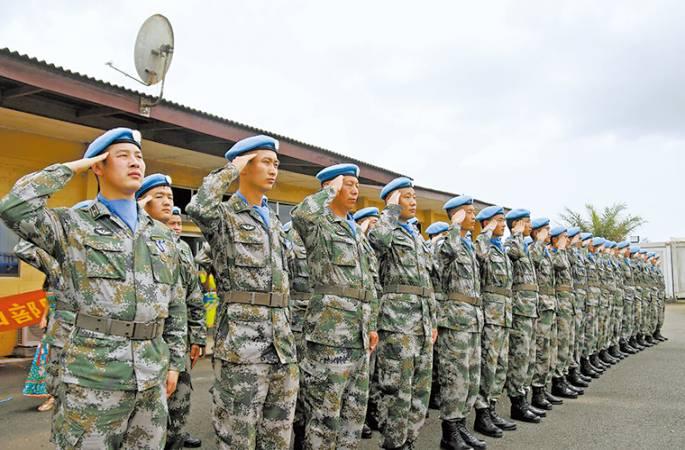 13년 PKO 활동, 마지막 라이베리아 주둔 중국 평화유지군 귀국