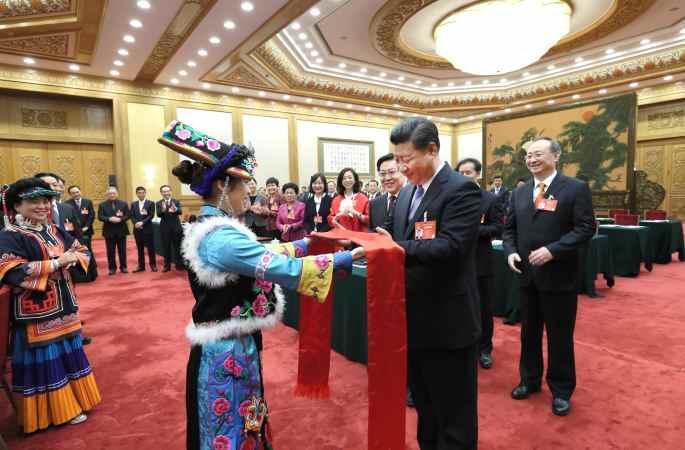 시진핑 주석, 쓰촨 대표단 심의에 참가
