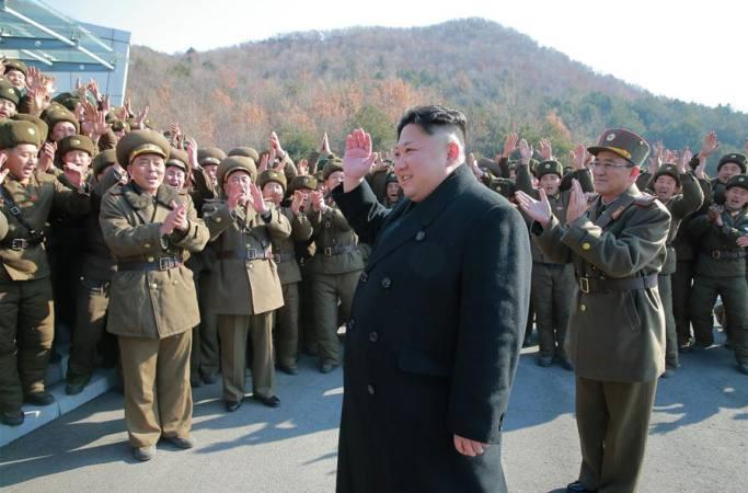김정은, 조선인민군을 지도하여 4발의 탄도 로켓 발사