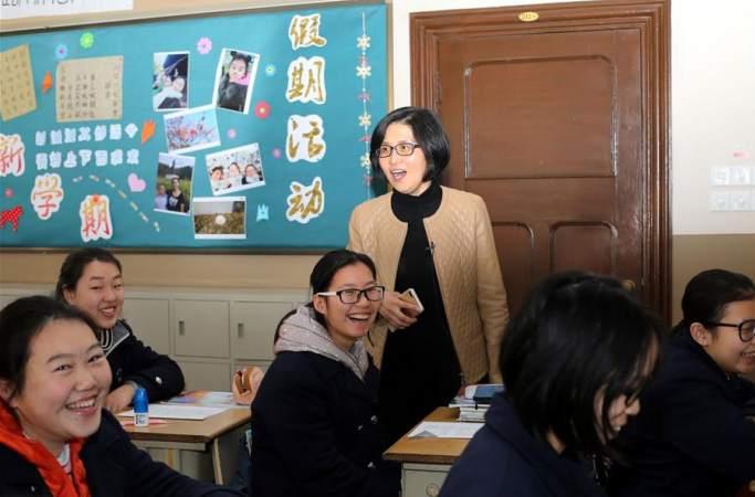 쉬융추: 14년간 여성 교육에 매진한 여교장