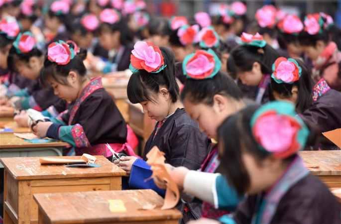 '3.8' 세계 여성의 날 경축을 위한 기예 전시